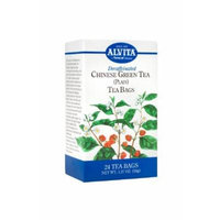 alvita decaffeinated chinese green tea (24 bags)