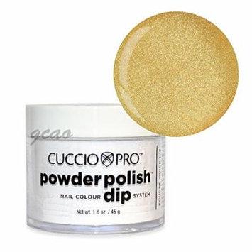 Cuccio Dip Metallic Lemon Gold 1.6 Oz #5523