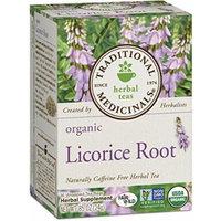 Traditional Medicinals Organic Licorice Root Tea, 16 Tea Bags by Traditional Medicinals