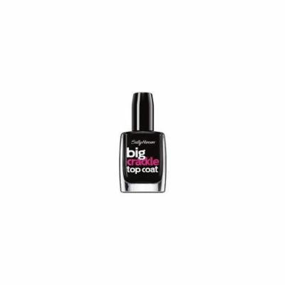 Sally Hansen Treatment Big Crackle Top Coat Nail Color - Black On by Sally Hansen