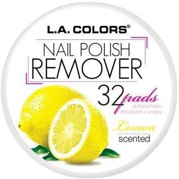 L.A. Colors Nail Polish Remover Pads - Lemon by L.A. Colors