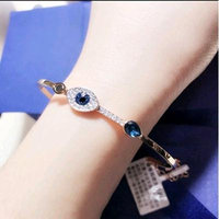 Generic classic _Eye_ bracelet clavicle necklace pendant _Japan_and_South_ Korea _trend_of_ jewelry