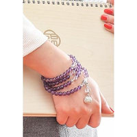 Generic new_features_Wong_Choi_Amethyst Ring around four_small_beauty_string_ bracelet bangle hand _maiden_honey_ jewelry _certificate authority.