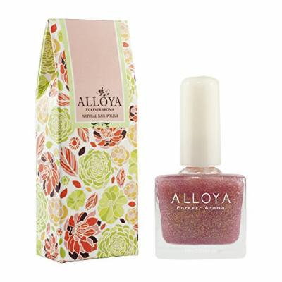 Alloya Natural Non Toxic Nail Polish, Water Based, Full Color Pink (052)