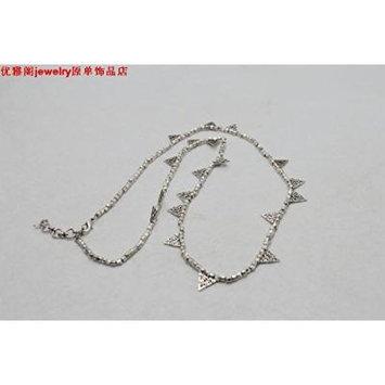 Generic Court_ elegant jewelry _shop_K_exaggeration_ new necklace pendant