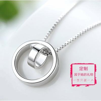 Generic Friend_ popular _Valentine_ gifts necklace pendant lettering _Spot_ neck collar design new _lady_lover_ lovers summer