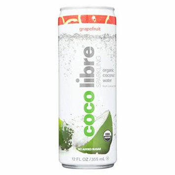 Organic Coconut Water; Lemon Ginger Sparkling , Pack of 12