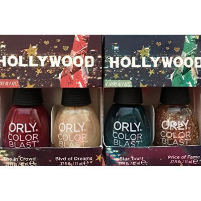 Orly Nail Polish Hollywood Bundle Star Tours with Price of Fame & The In Crowd with Blvd of Dreams