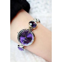 Generic Korean_New_ quartz _form_a_curtain_Meng_crystal_gemstone_wrist_ watch es,_ watch es_ students .