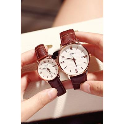 Generic Genuine_minimalist_ retro _College_wind_roman_scale,_waterproof_ Belt quartz watch