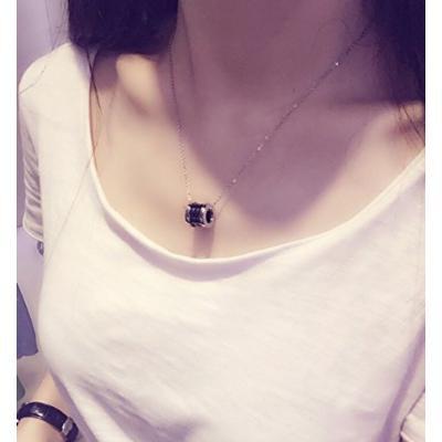 Generic pendant necklace women girl Korean short _paragraph_about_ summer fashion clavicle chain couple _tide_ accessories