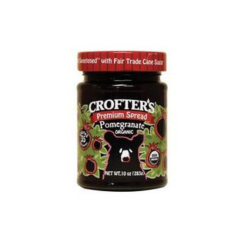 Crofters Organic Fruit Spread Pomegranate -- 10 oz by Crofters