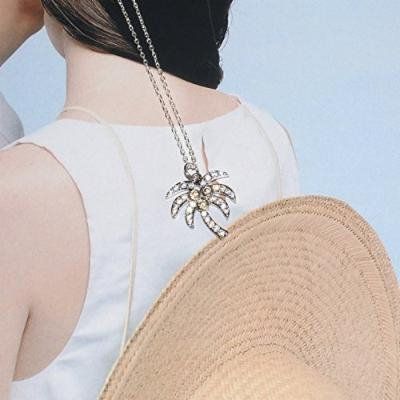 Generic Korean fashion personality _palm_ clavicle chain s925 sterling silver necklace pendant birthday gift _ideas_ women girl