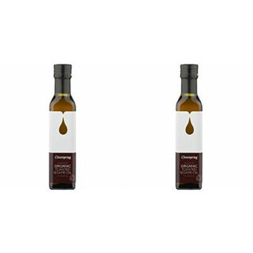 - Clearspring - Organic Toasted Sesame Oil   500ml   BUNDLE by Clearspring