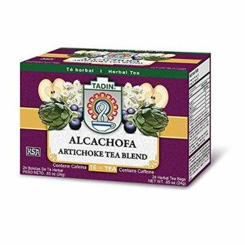 Tadin Artichoke Diet Tea Alcachofa Te - Total of 72 Tea Bags by Tadin