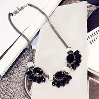 Generic Hong_Kong_ fashion _petal_ necklace pendant women girl clavicle chain jewelry _Japan_and_South_ Korea _a_ short _section_of_the_ clavicle necklace pendant decorative accessories