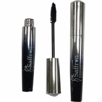 Saffron - Waterproof Eye Lash Mascara Extreme Length & Curl (Black) by Britwear