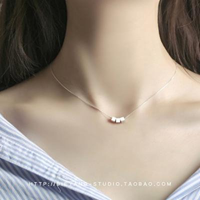 Generic Different_kind_of_s04_`` autumn _Forest``_about_the_ original _trical_ box collar bone Day _Han_Xiaoqing_ new fashion temperament necklace pendant women girl