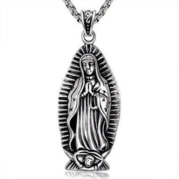Generic 16S_nuns_pray_ retro personalized jewelry pendant necklace _sub_garment_ accessories _manufacturer_of_ steel _S456