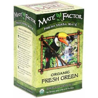 The Mate Factor Yerba Mate Energizing Herb Tea Bags, Organic Fresh Green, 24-Count Boxes by The Mate Factor