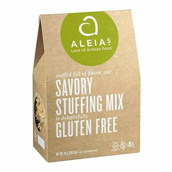 Aleia's Gluten Free Savory Stuffing Mix - Case of 6 - 10 oz.