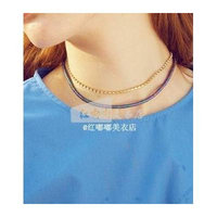 Generic Toot_genuin_ autumn _17_S_ Korean _direct_mail_ fashion collar necklace pendant