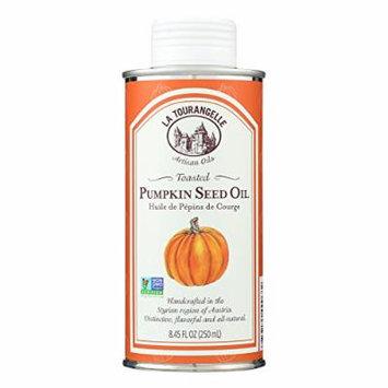 La Tourangelle Pumpkin Seed Oil - Case of 6 - 8.45 Fl oz.