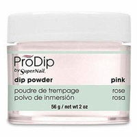 Supernail Prodip French Acrylic Dip Powder Pink, 2 Ounce