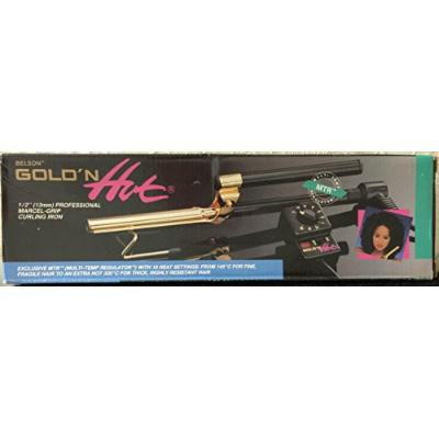 Belson Curling Irons Marcel & Spring Grip For The Pro