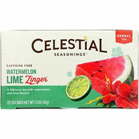 Celestial Seasonings® Watermelon Lime Zinger Caffeine Free