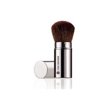 YVES ROCHER GLOWING COMPLEXION BRUSH WITH NATURAL HAIR (Retractable Brush)