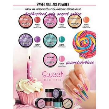 Mia Secret ACRYLIC POWDER SWEET 12 piece Nail art - Works W Acrylic Dip System