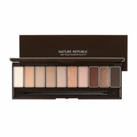 [Nature Republic] Pro Touch Shadow Palette #01 Browny Season
