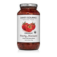 DAVE'S GOURMET, PASTA SCE, OG2, MARINARA HEARTY - Pack of 6