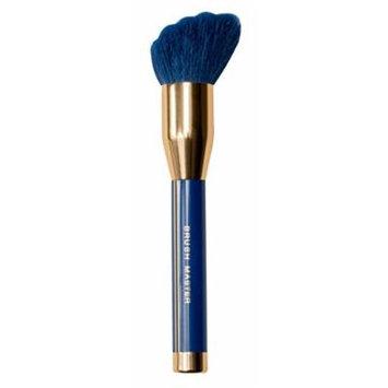 BM Blue Enchantress Makeup Brush - Expert Face Brush 1 Count (Blue and Gold 1.22 Ounce)