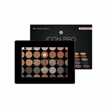 ICON PRO Eyeshadow Palette by Absolute New York Smoke & Mirrors