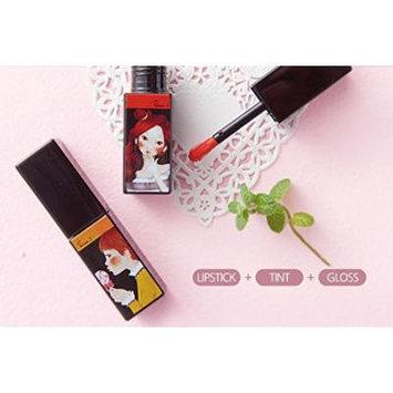 Fascy Twinkle Mojito All in one Lip Stain+Lip Balm+Lip Gloss+Lip Stick (Tequila Sunset(Peach))