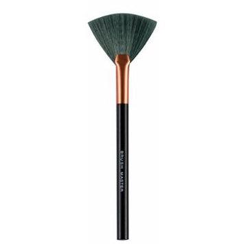 BM Babie Magic Makeup Brush - Fan Brush 1 Count (Bronze and Black 0.28 Ounce)