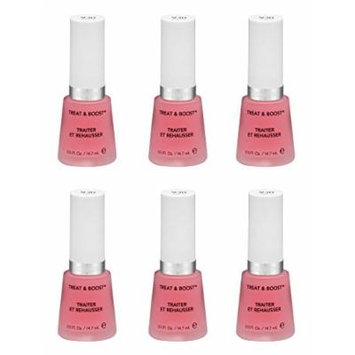 Revlon Nail Treat and Boost, 930, 0.5 Fl Oz (6 Pack) + FREE Travel Toothbrush, Color May Vary