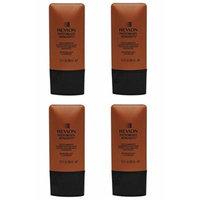 Revlon Photoready Skinlights Face Illuminator ~ Bronze Light 400 (4 Pack) + FREE Travel Toothbrush, Color May Vary