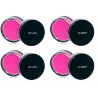 Revlon Photo Ready Cream Blush, Flushed, 0.4 Ounce (4 Pack) + FREE Luxury Luffa Loofah Bath Sponge On A Rope, Color May Vary