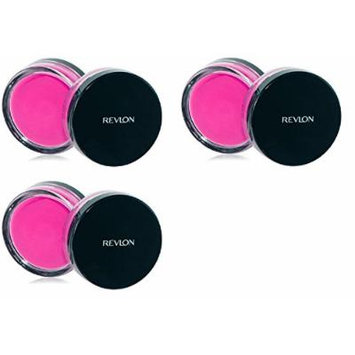 Revlon Photo Ready Cream Blush, Flushed, 0.4 Ounce (3 Pack) + FREE Travel Toothbrush, Color May Vary