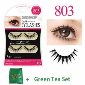 D.U.P False Eyelashes - Rich 803 (Green Tea Set)