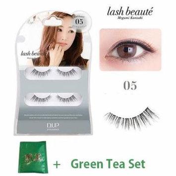 D.U.P False Eyelashes Lash Beaute - Mild Sexy 05 (Green Tea Set)