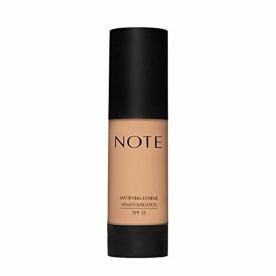 Note Cosmetics Mattifying Extreme Wear Foundation (07 Apricot)