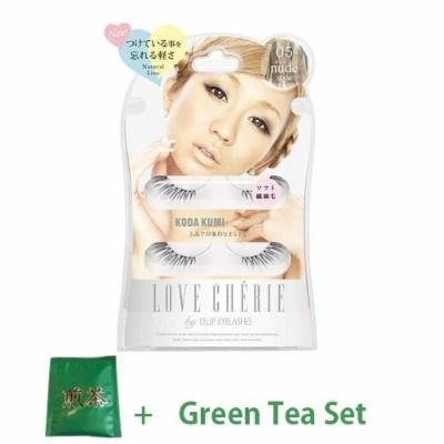 D.U.P False Eyelashes Love Cherie - Nude Style 05 (Green Tea Set)