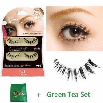 D.U.P False Eyelashes Deux - Girly Eyes 908 (Green Tea Set)