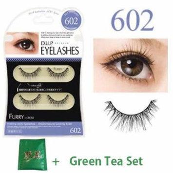 D.U.P False Eyelashes - Furry 602 (Green Tea Set)