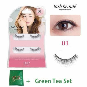 D.U.P False Eyelashes Lash Beaute - Adult Girly 01 (Green Tea Set)