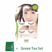 D.U.P False Eyelashes Secret Line Air - Cute Eyes 936 (Green Tea Set)
